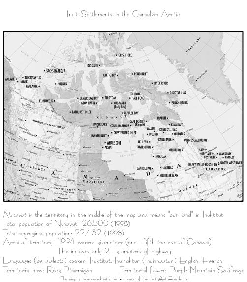 Inuit Settlements in the Canadian Arctic
